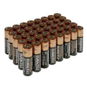 Duracell Plus Power AA Batteries Box of 40